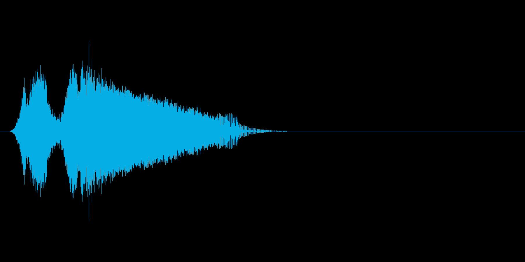 ピューイー!!(モンスターの鳴き声喜び)の再生済みの波形