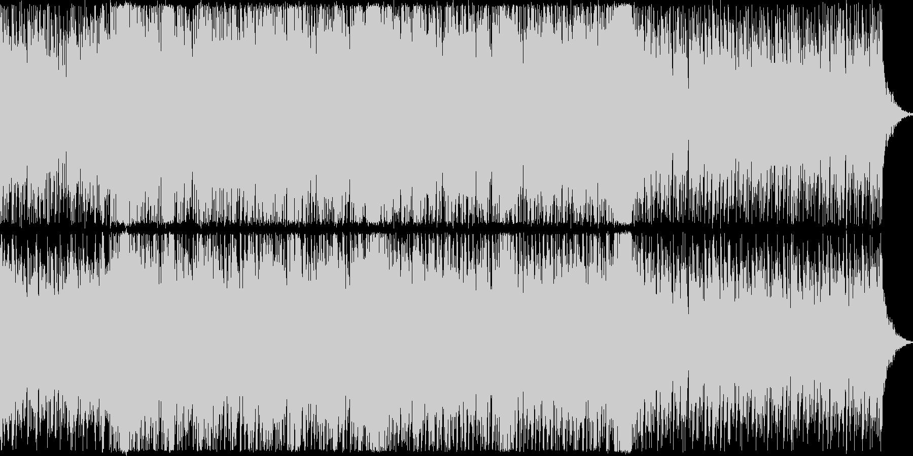 ストリングスとトランスを合わせた開幕感の未再生の波形