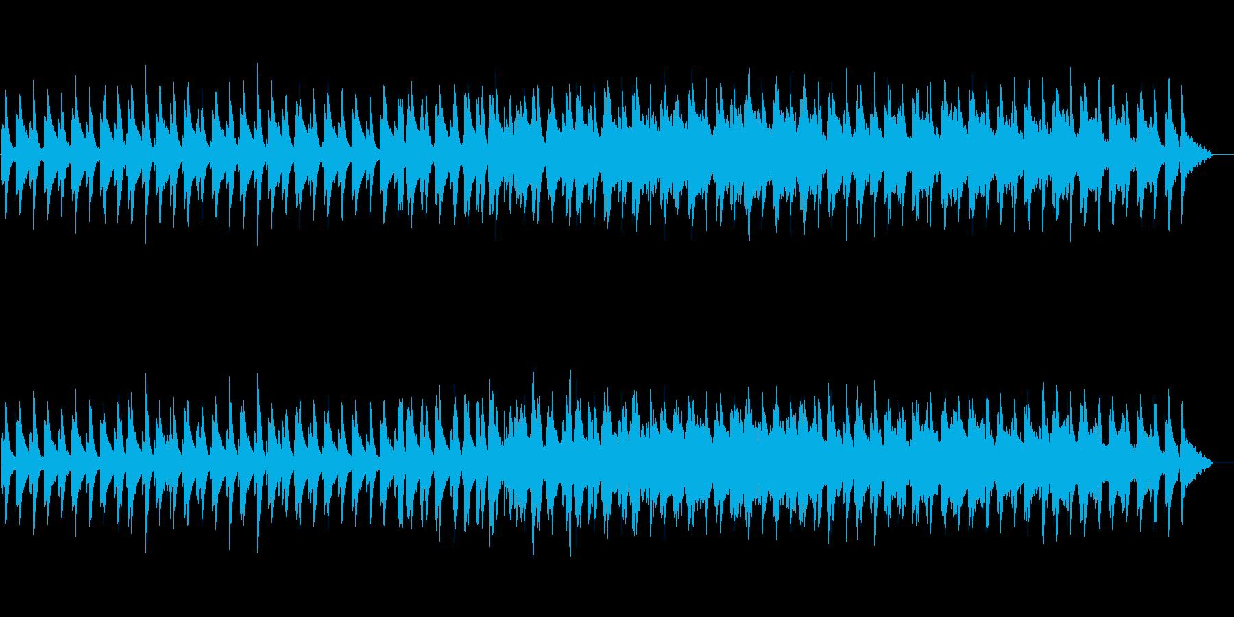 微粒子(クリスタル・ライツ)の再生済みの波形