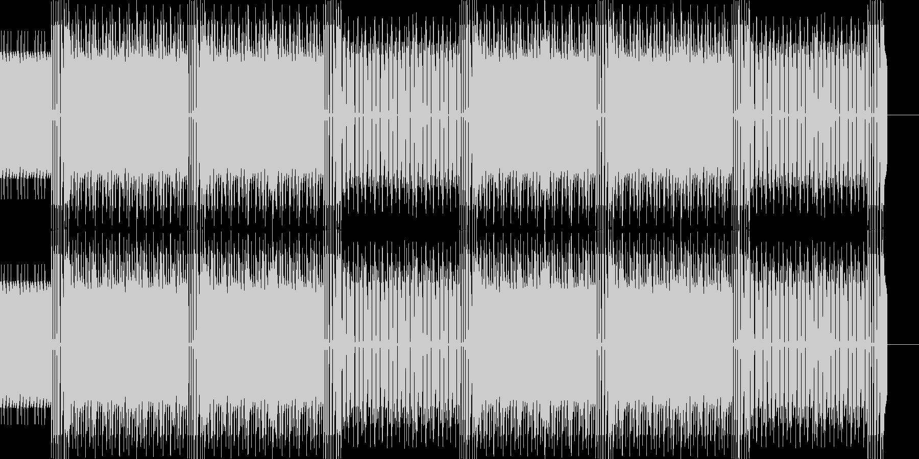 ベースとドラムを中心とした疾走感がある…の未再生の波形