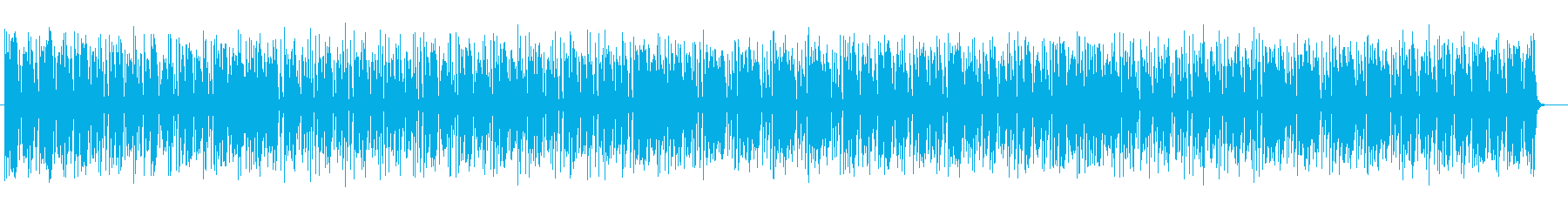 ポップで楽しくキャッチ―なポップスの再生済みの波形