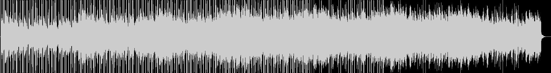 綺麗で感動的なクリーンBGMの未再生の波形