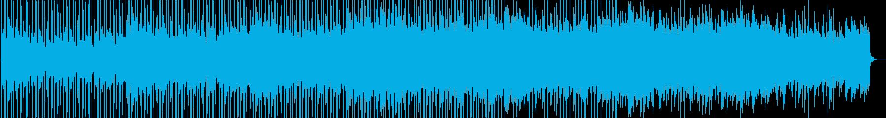 綺麗で感動的なクリーンBGMの再生済みの波形