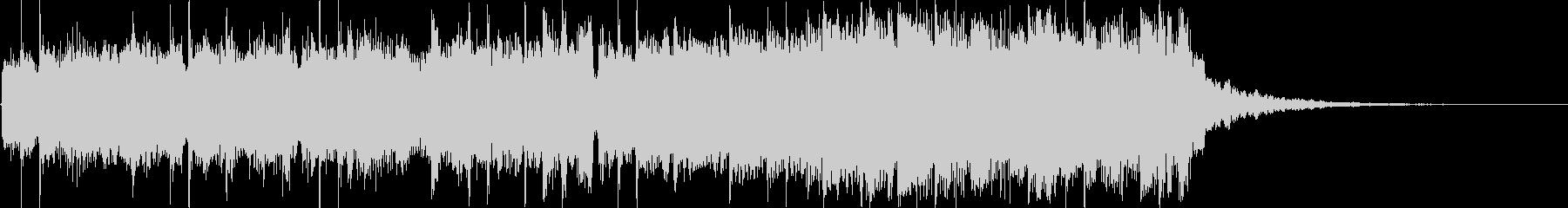 トイピアノとキラキラとしたエレクトニカの未再生の波形