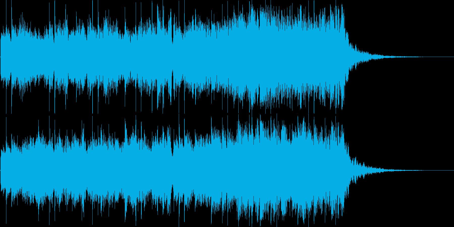トイピアノとキラキラとしたエレクトニカの再生済みの波形