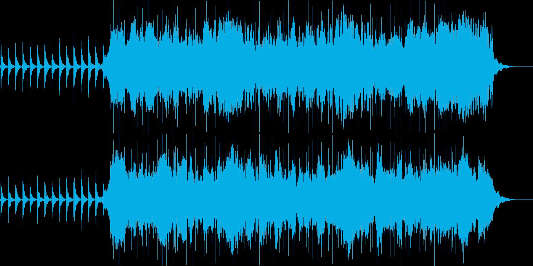 ポップス 壮大 さわやかの再生済みの波形