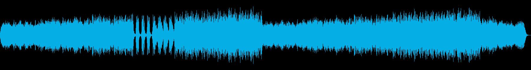 神秘的で切なく、かっこいいコーラス入音楽の再生済みの波形