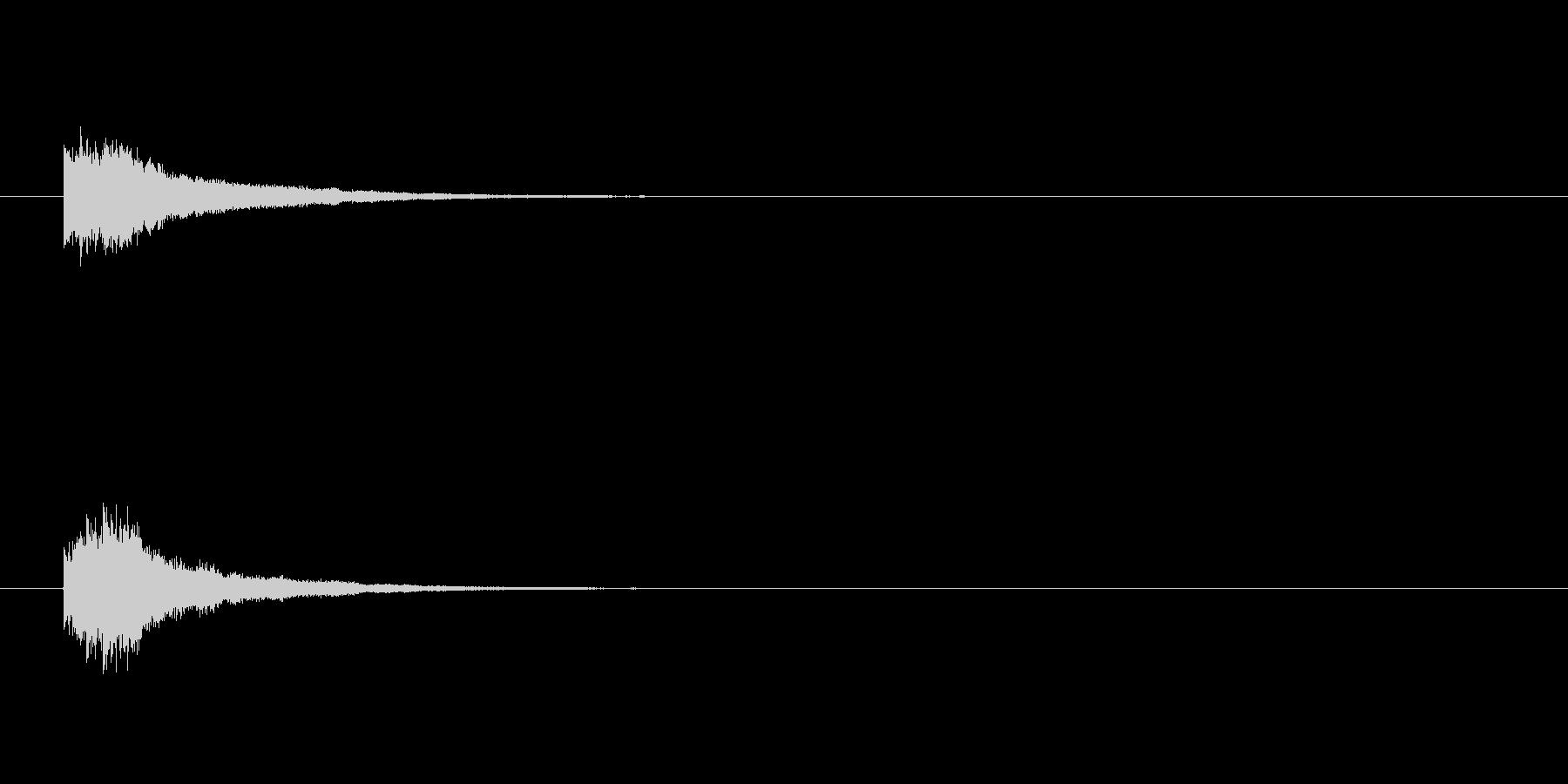 キラリラリン(きっかけ)の未再生の波形