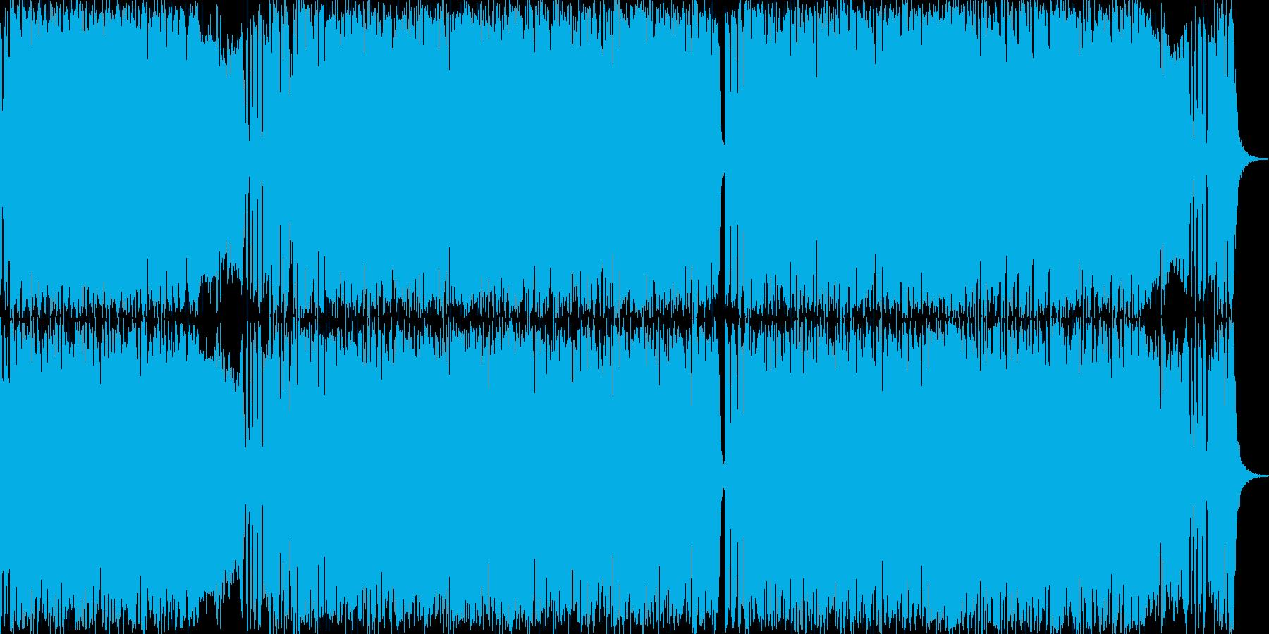 トランペットが情熱的なラテンミュージックの再生済みの波形
