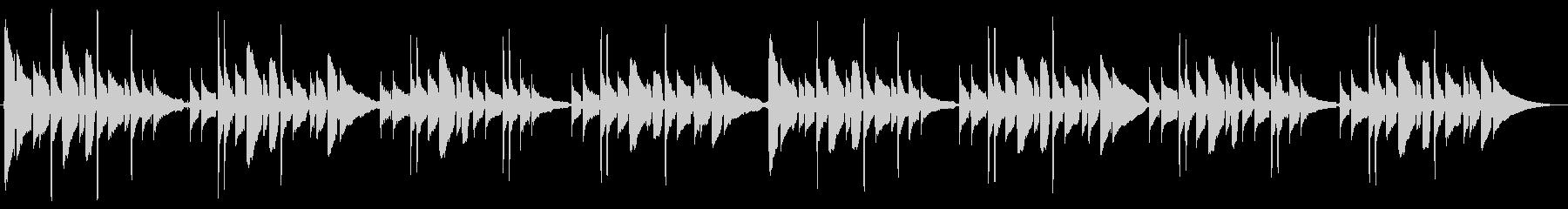 「蛍の光」 アコースティックギター演奏の未再生の波形