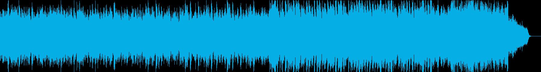 静かで優しい和風オケ②大太鼓ティンパニ抜の再生済みの波形