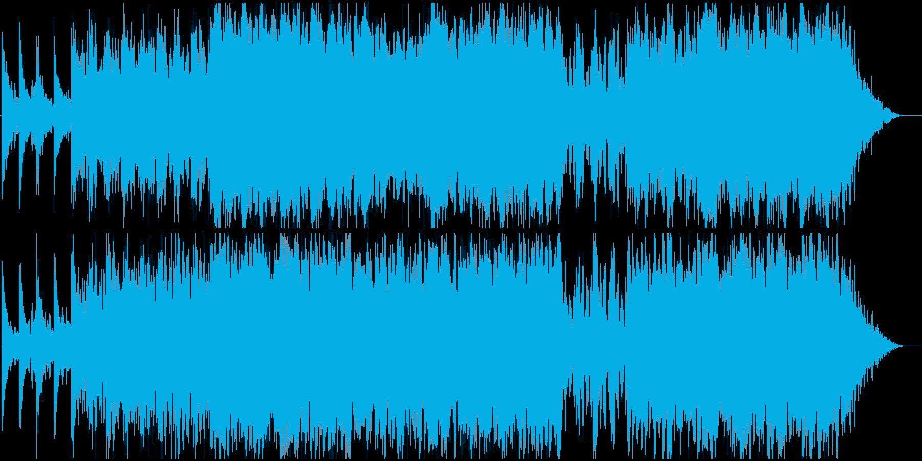 悲しげなストリングス・バラードの再生済みの波形