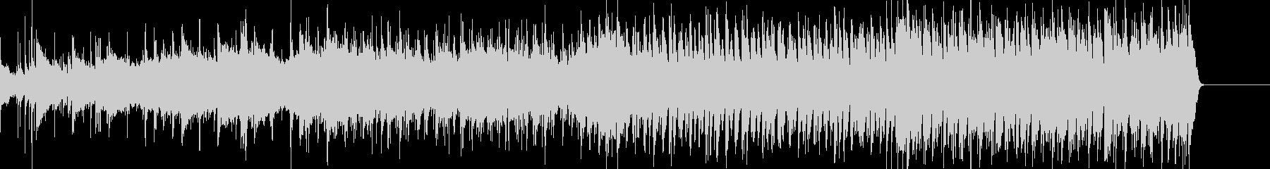 ラテンのリズムを取り入れた爽やかな曲の未再生の波形