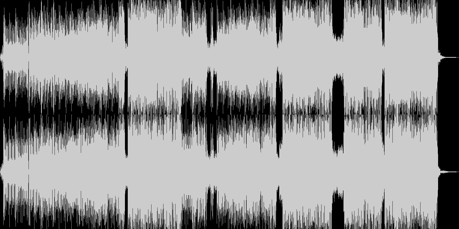 ୧꒰*´꒳`*꒱૭✧なポップチューンの未再生の波形