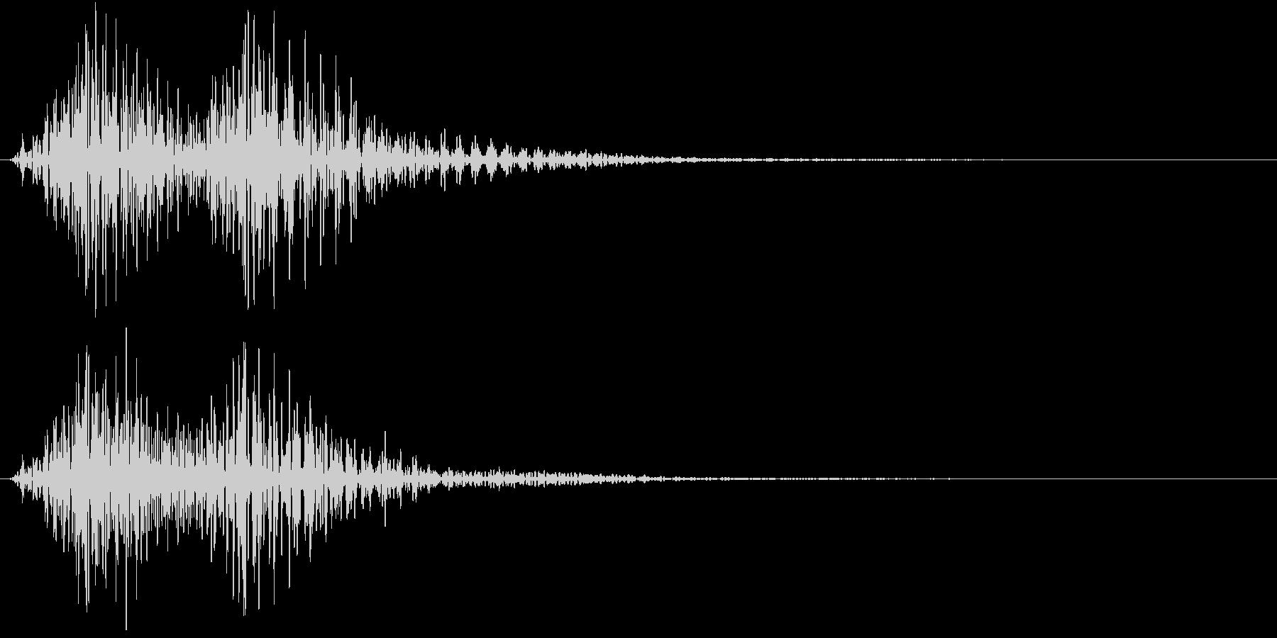 Cartoon アメコミ 煽り 単発 1の未再生の波形