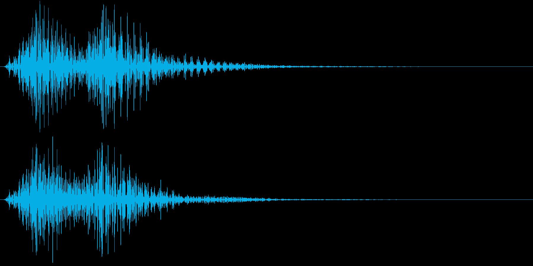 Cartoon アメコミ 煽り 単発 1の再生済みの波形