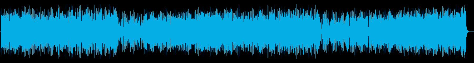 ノリノリでアップテンポダンスミュージックの再生済みの波形