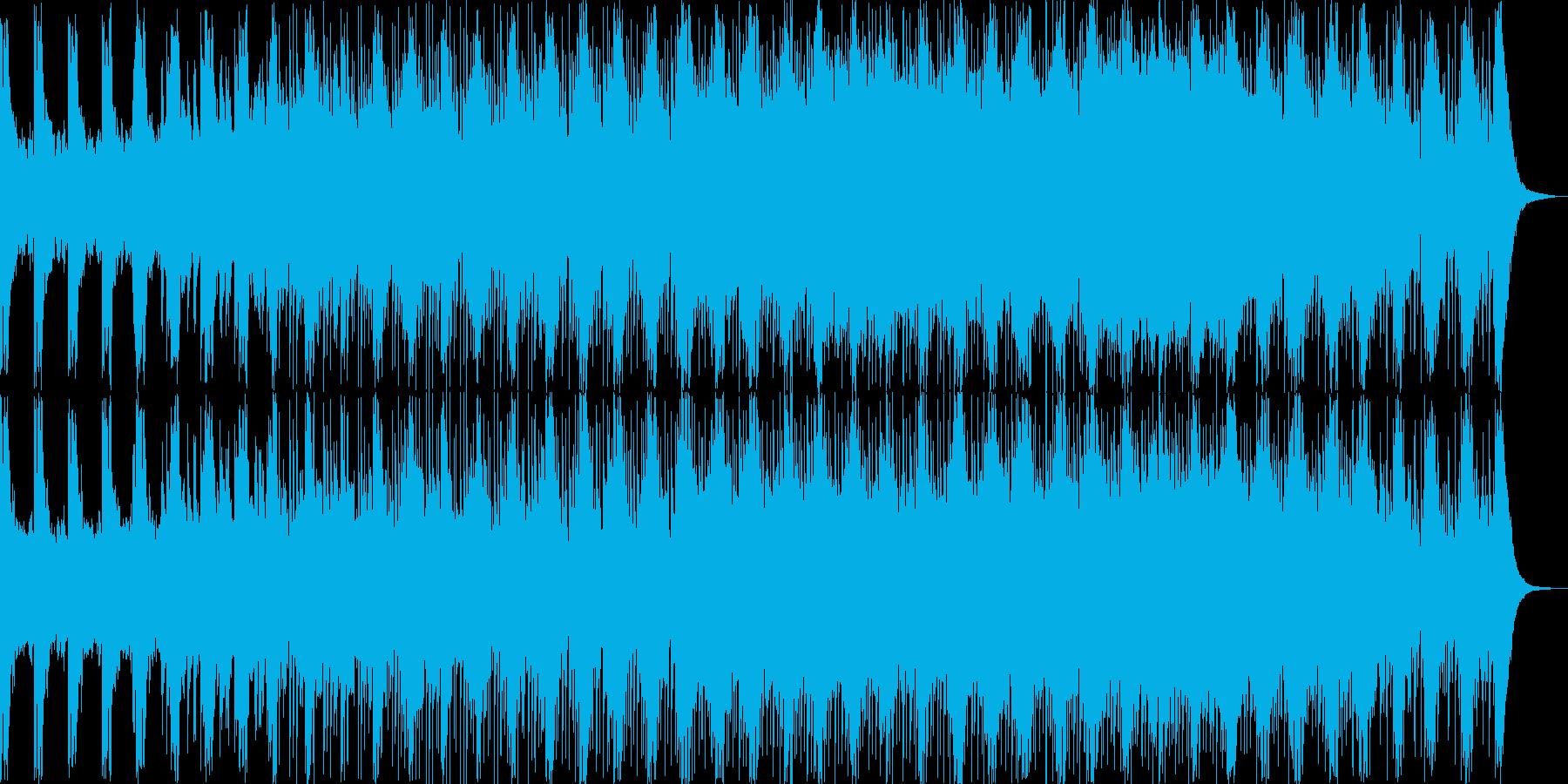 戦闘 シューティング オーケストラBGMの再生済みの波形