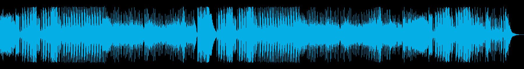 メルヘンかわいいおもちゃのピアノ曲の再生済みの波形