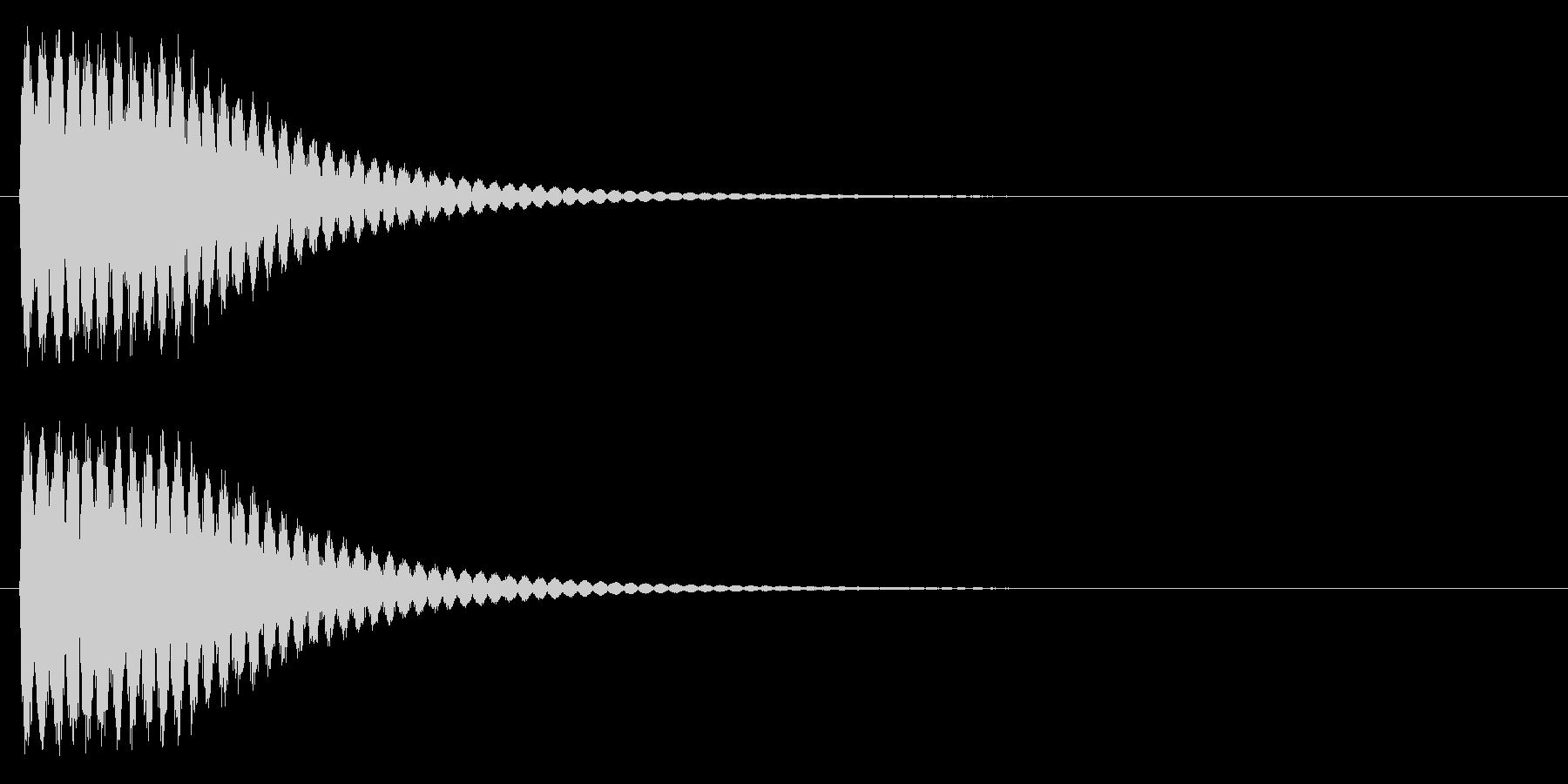 ビーム、発射、クラッシュの未再生の波形