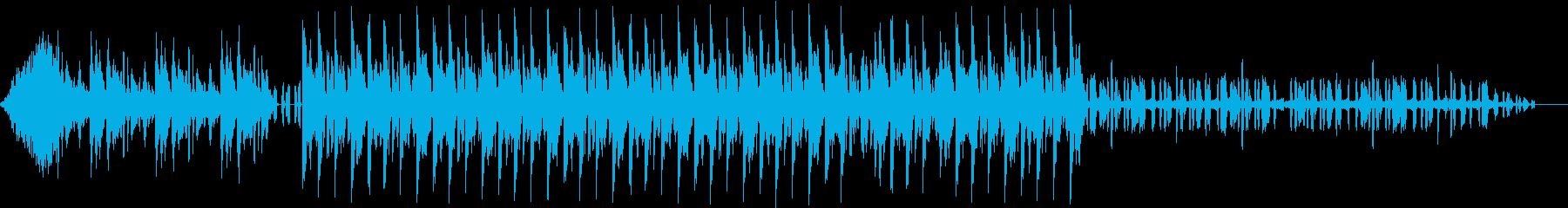 【企業VP・プレゼン】都会感・ドライブ感の再生済みの波形