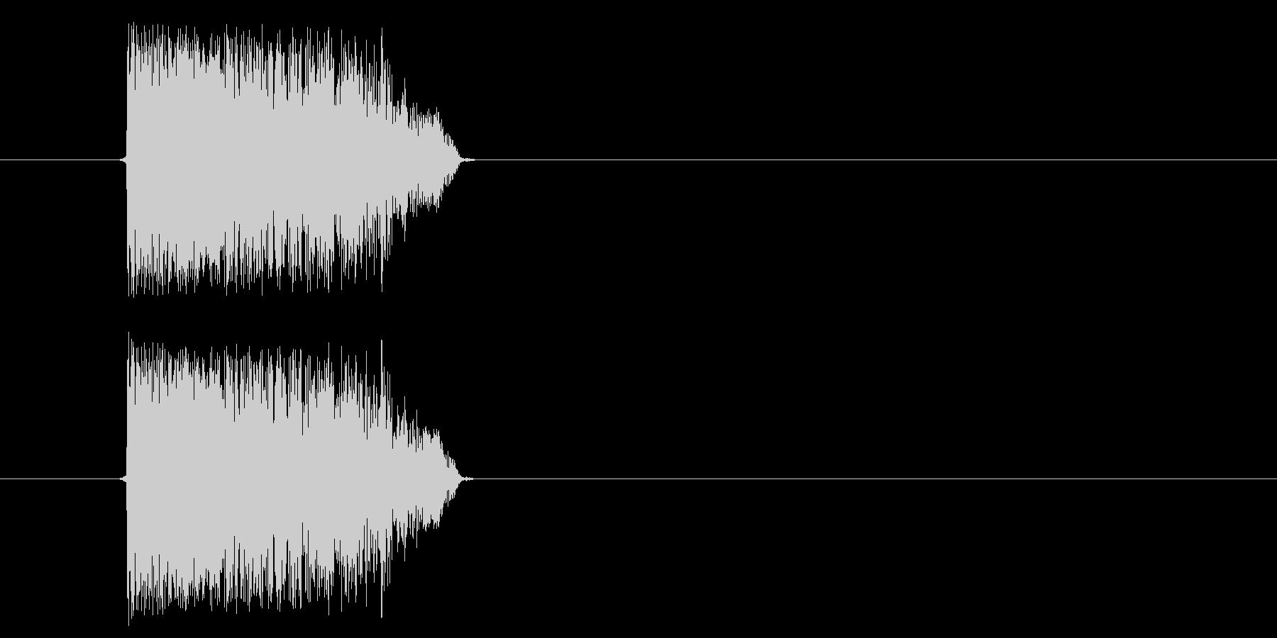 Synth破れビリ(m0282)の未再生の波形