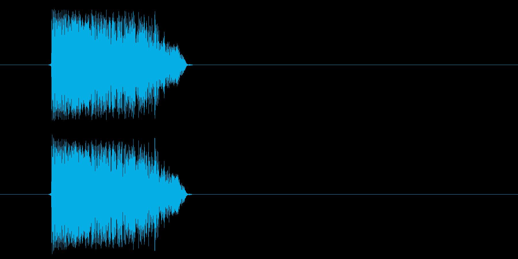 Synth破れビリ(m0282)の再生済みの波形
