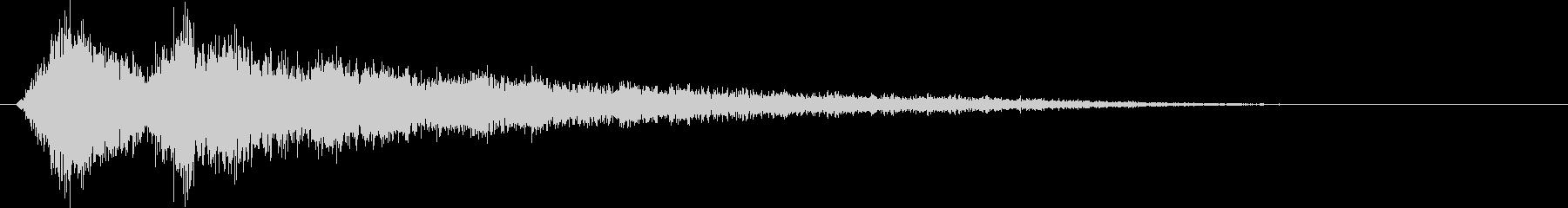 ピュンピュンピュン… (自機爆破)の未再生の波形