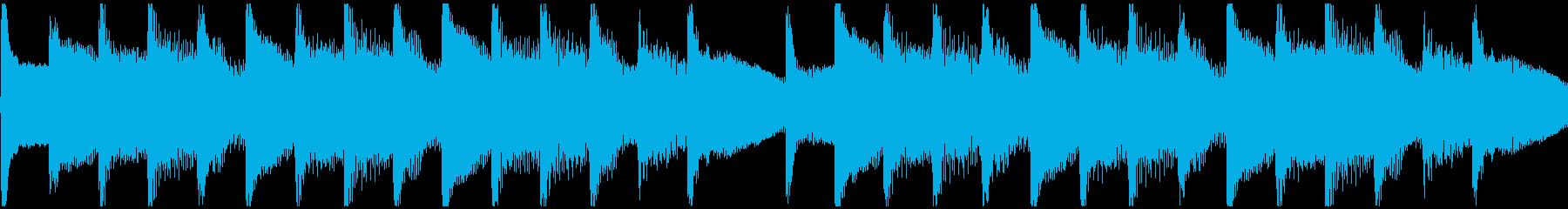 琴、日本の風景、和菓子、CM等ループ2の再生済みの波形
