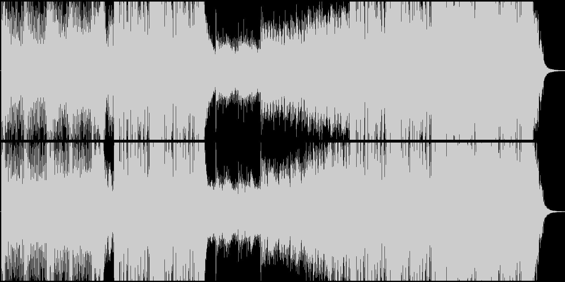 Djent+オーケストラの壮大な戦闘曲の未再生の波形