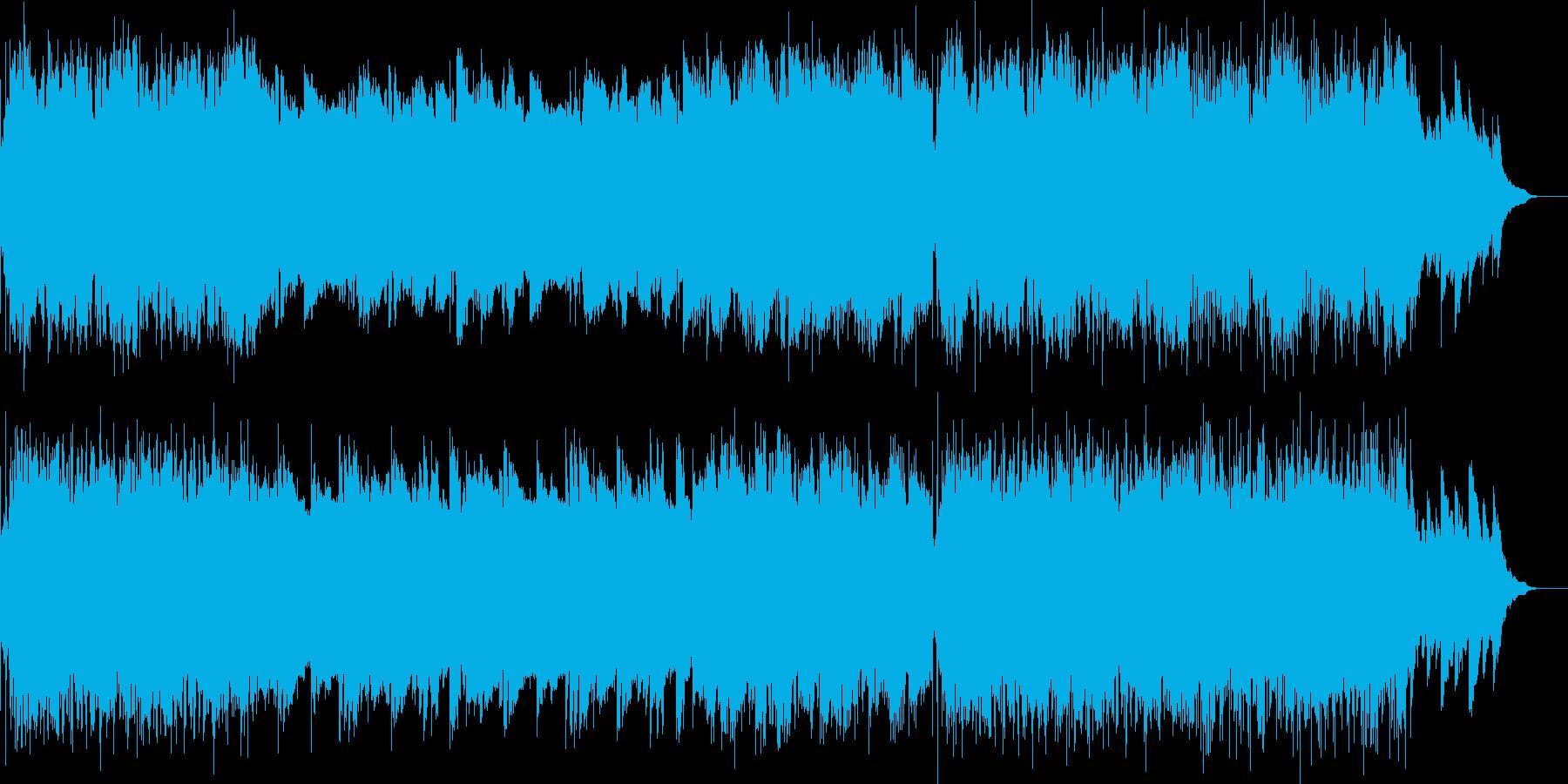 マスタリング済みの音質に拘った、ギター…の再生済みの波形