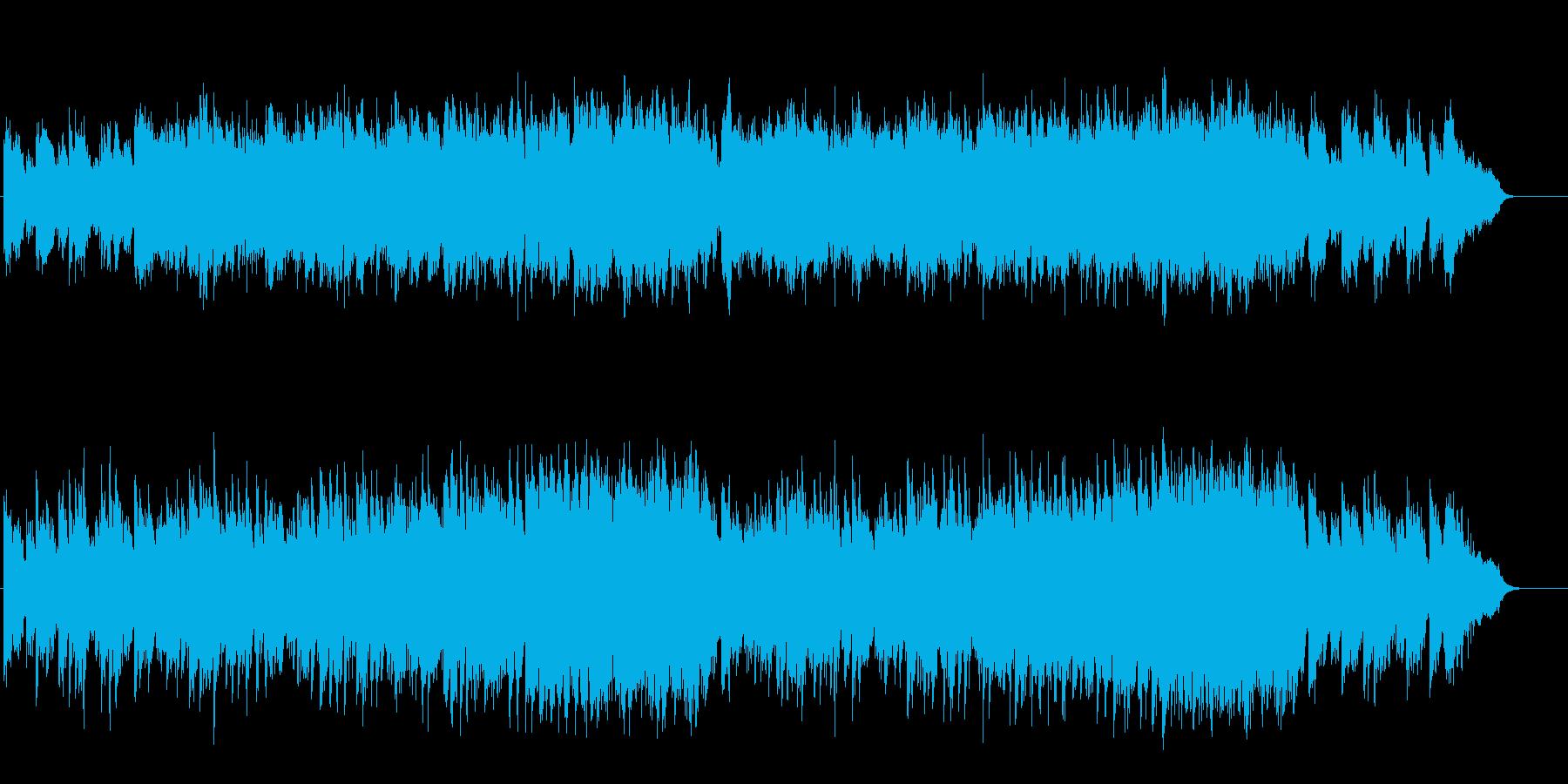 透明感のあるナイーブなアコースティックの再生済みの波形