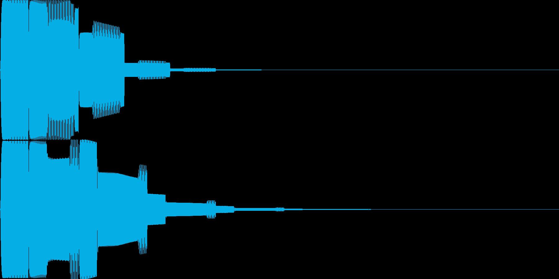 汎用決定ボタン - 5の再生済みの波形