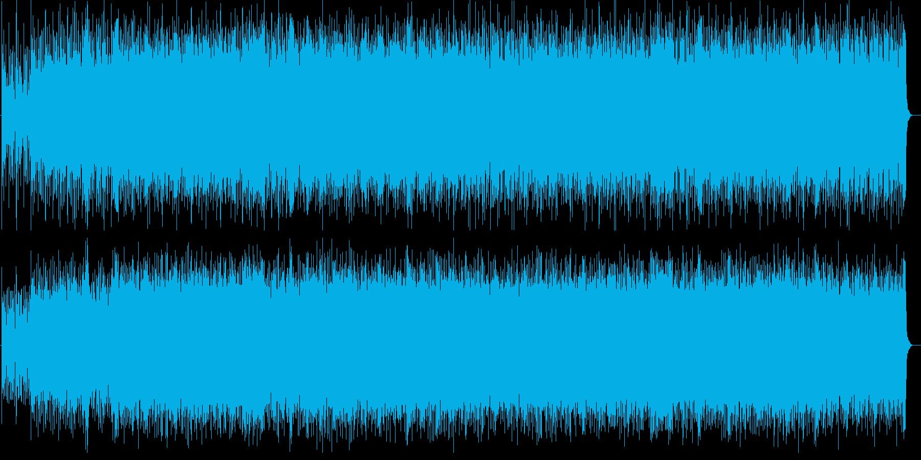 ラスボス感あふれるポップスの再生済みの波形