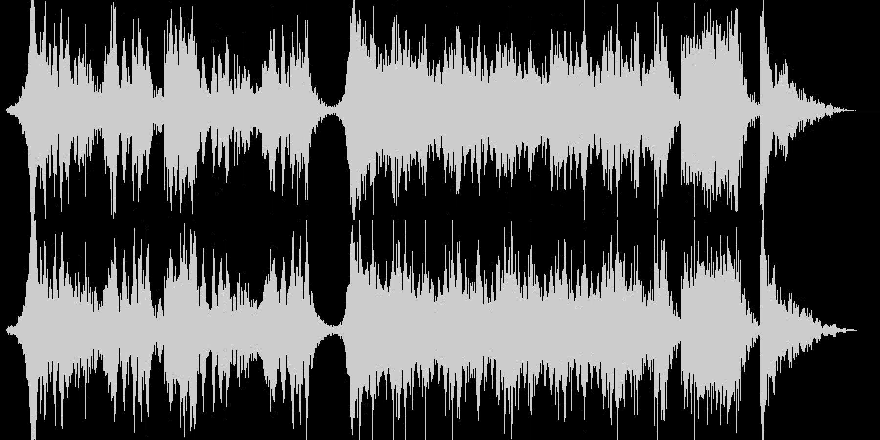 ハリウッド予告編の様な壮大オーケストラの未再生の波形