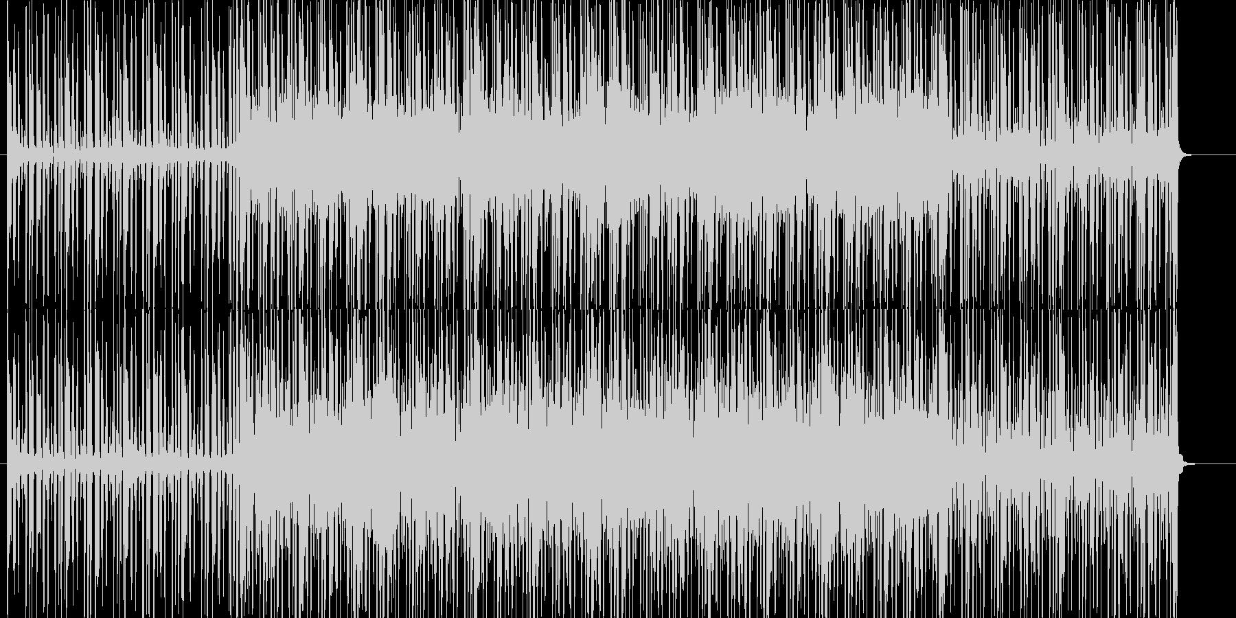 お洒落でかっこいいクラブジャズBGMの未再生の波形