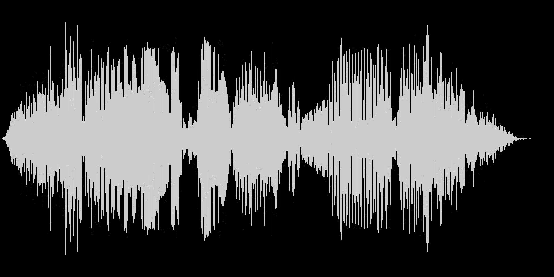 セーブしますの未再生の波形