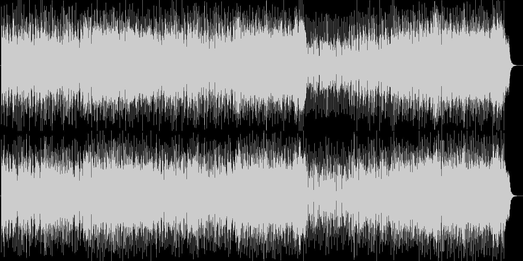 感動的で前向きなフュージョンポップスの未再生の波形