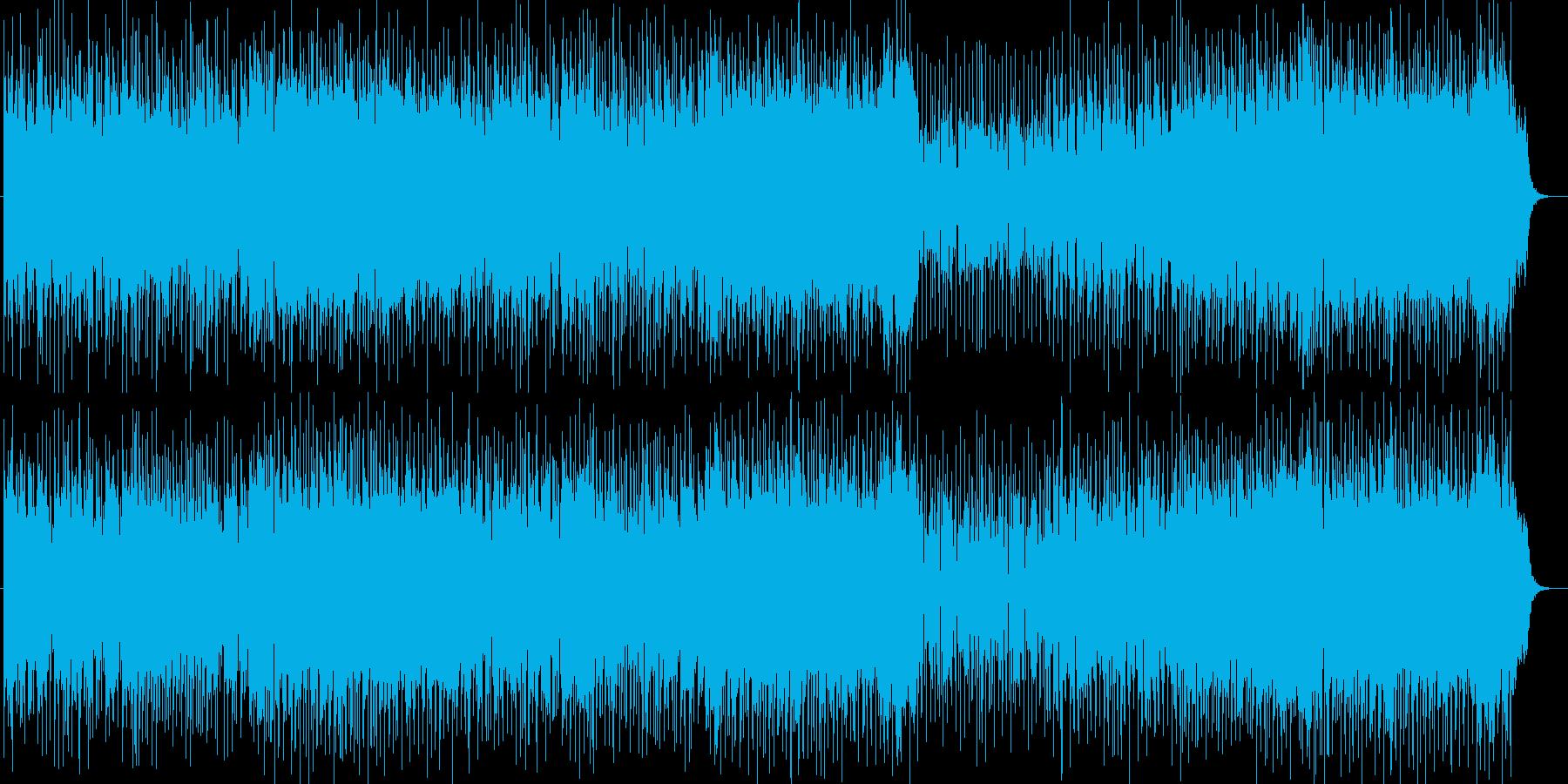 感動的で前向きなフュージョンポップスの再生済みの波形