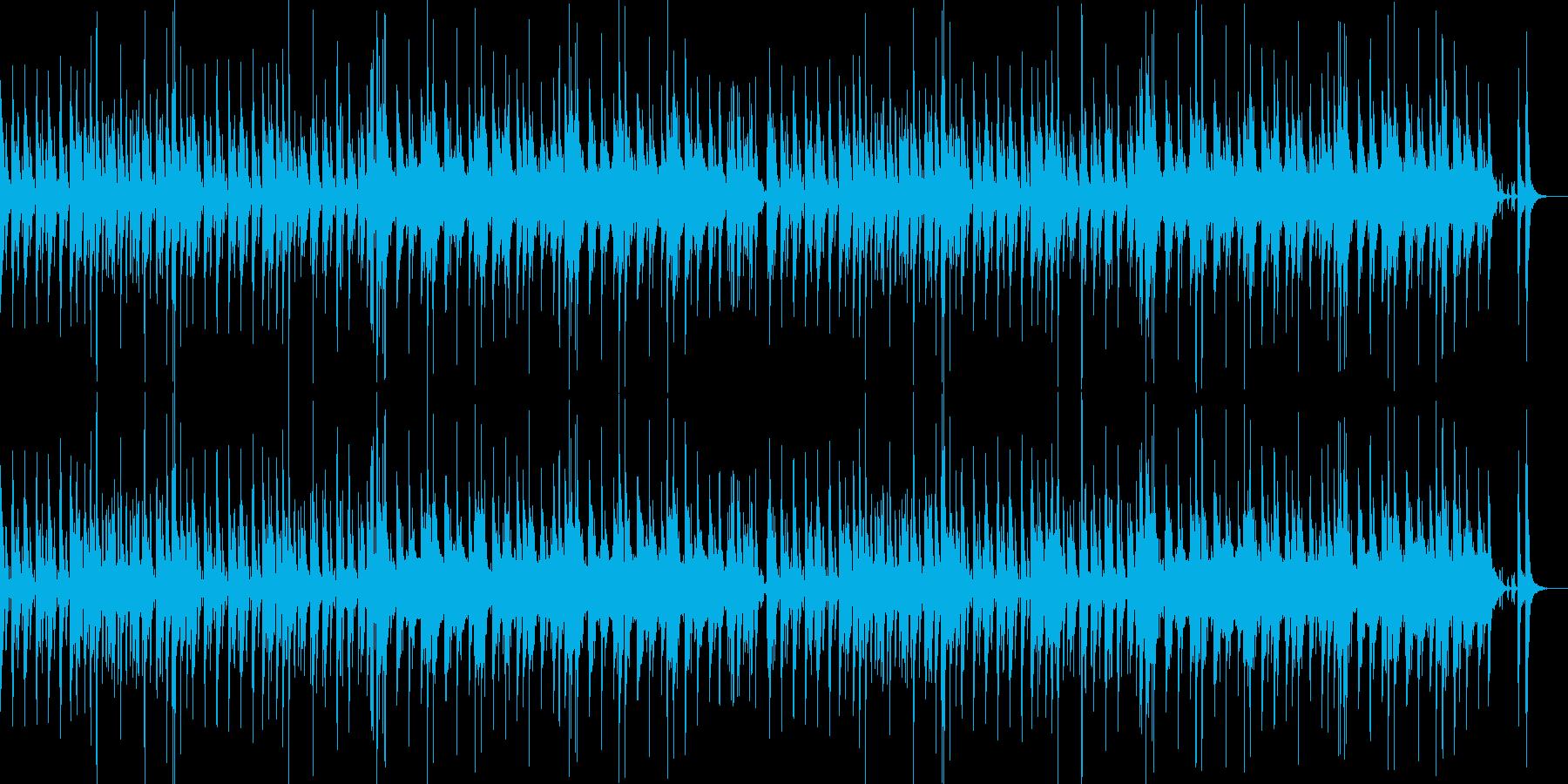 マレット楽器のほのぼのインストの再生済みの波形