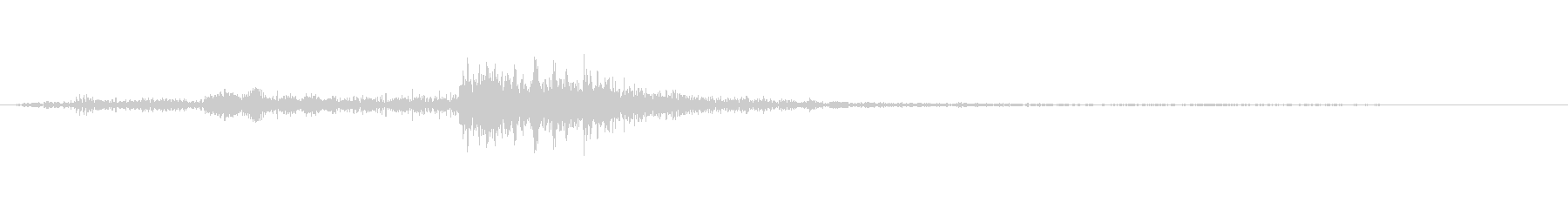 レバーを引く音.02の未再生の波形