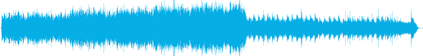 どこか和風なオーケストラ曲の再生済みの波形