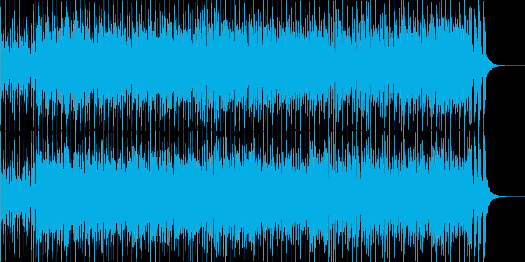 子供用のリズミカルなBGMの再生済みの波形