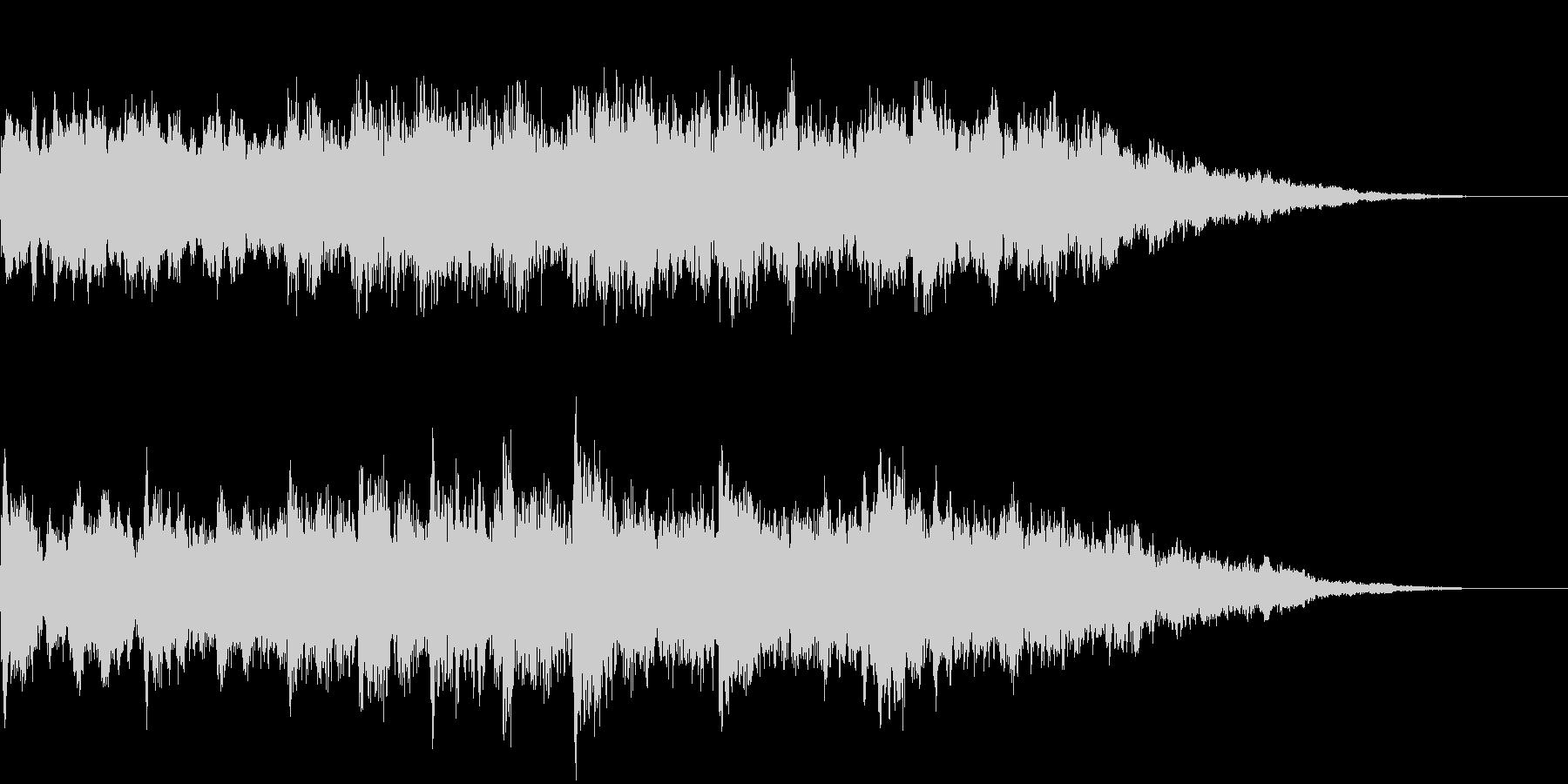 電車の発車メロディ003 発車音の未再生の波形
