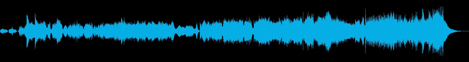 大河ドラマのような'和オーケストラ'楽曲の再生済みの波形