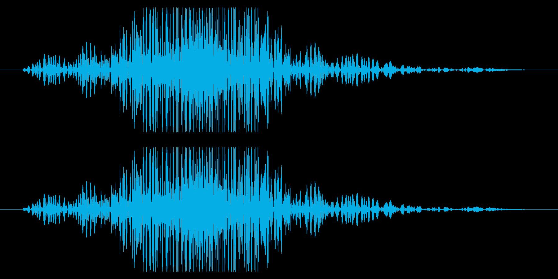 重めの風切り音(大剣,鎌,刀,棒)03の再生済みの波形