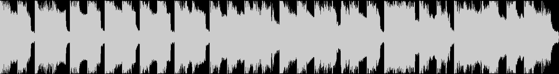 「威風堂々」ほのぼのアレンジショートの未再生の波形