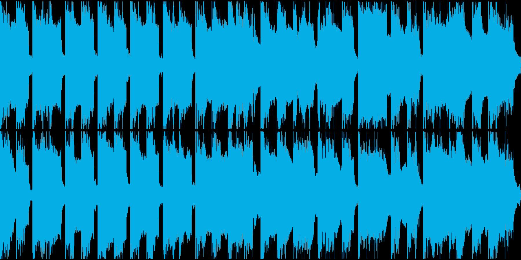 「威風堂々」ほのぼのアレンジショートの再生済みの波形