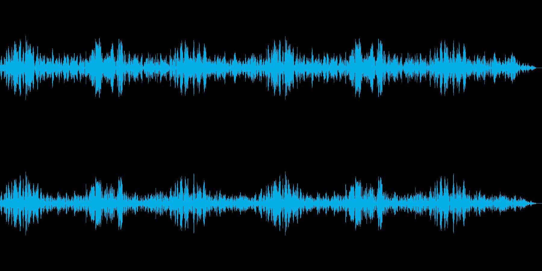 〇〇の鼓動の再生済みの波形