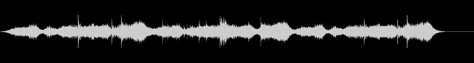 オリジナルBGMシンセパッド+ピアノの未再生の波形